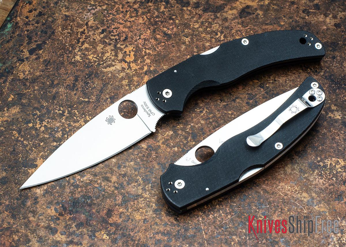 Spyderco: Native Chief - Black G-10 - CPM-S30V - C244GP primary image