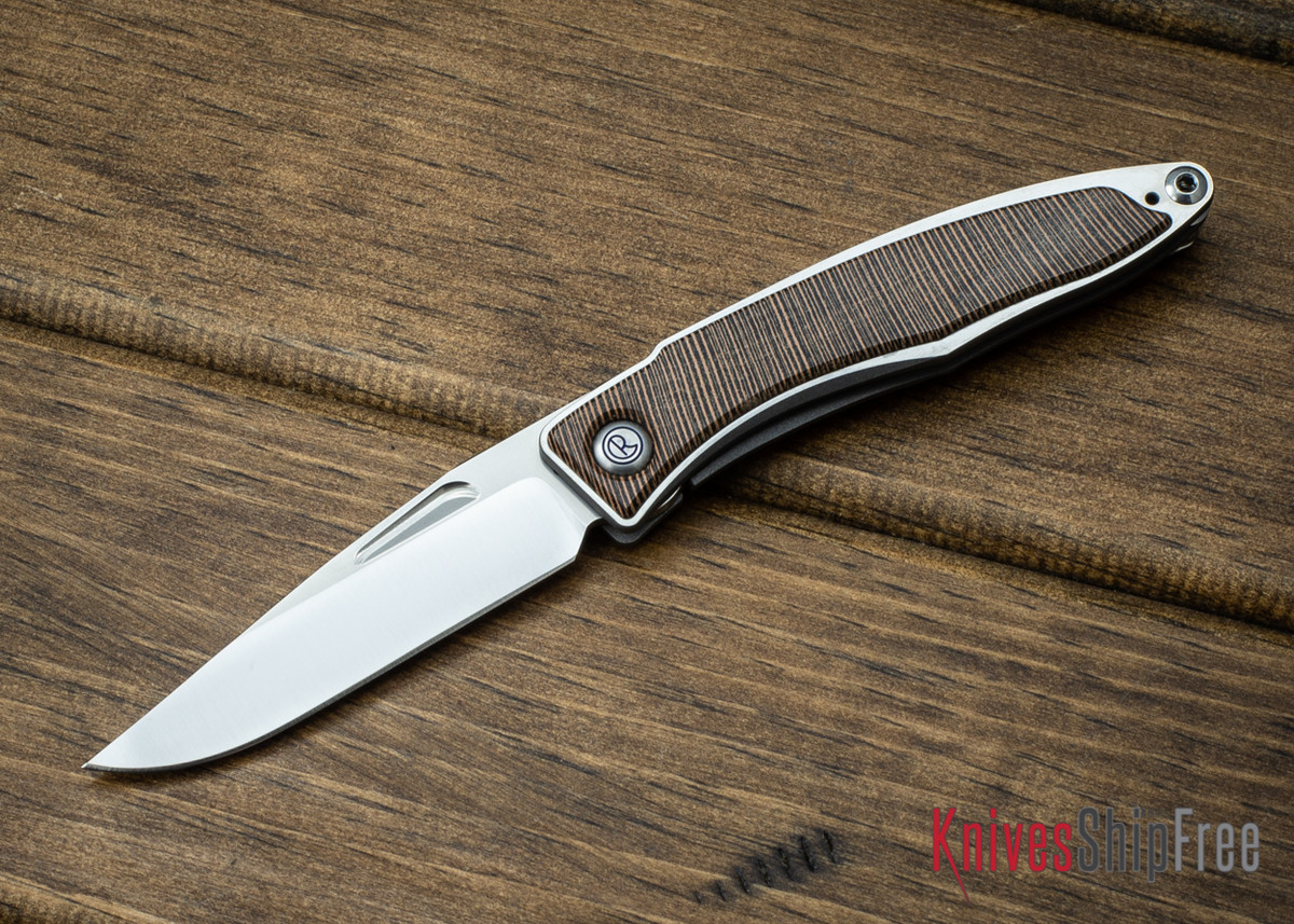 Chris Reeve Knives: Mnandi - Striped Platan - 061108 primary image