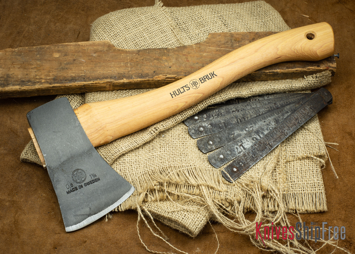 Hults Bruk: Tarnaby Hatchet - Forged Axe Head - Standard Series
