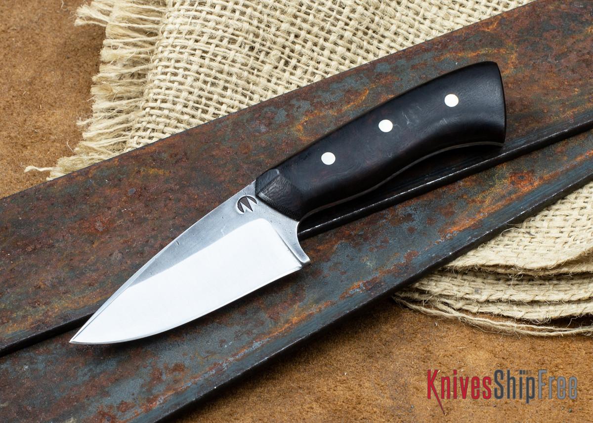 "Carter Cutlery: 2.52"" Muteki #2194 Freestyle Short & Stubby - Desert Ironwood - Black Liners primary image"