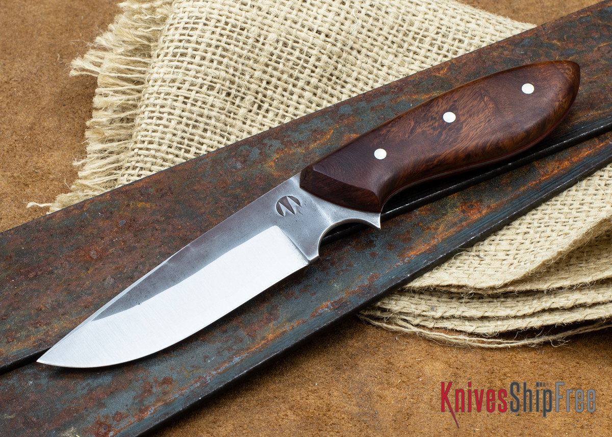 "Carter Cutlery: 3.74"" Muteki #2196 Perfect Neck Knife - Desert Ironwood - Red Liners primary image"