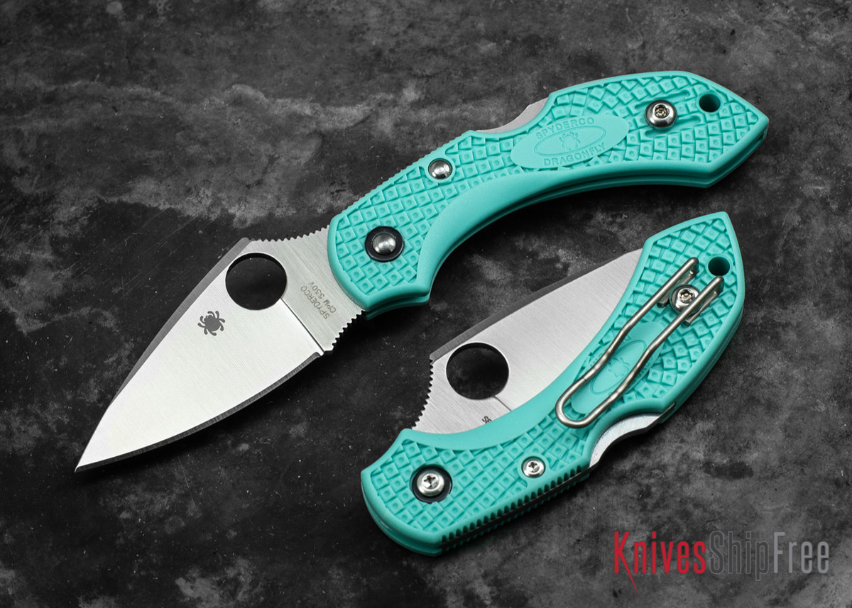 Spyderco: Dragonfly 2 - Teal FRN - CPM-S30V primary image