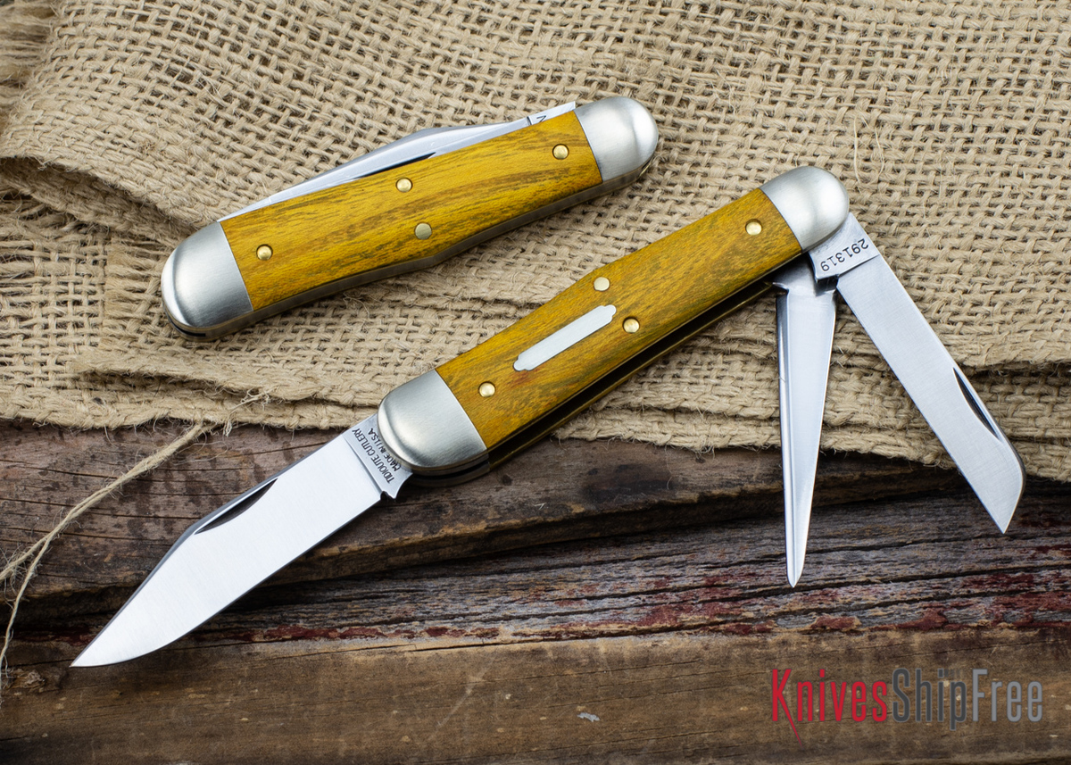 Great Eastern Cutlery: #29 Tidioute - Stockyard Whittler - Osage Orange primary image