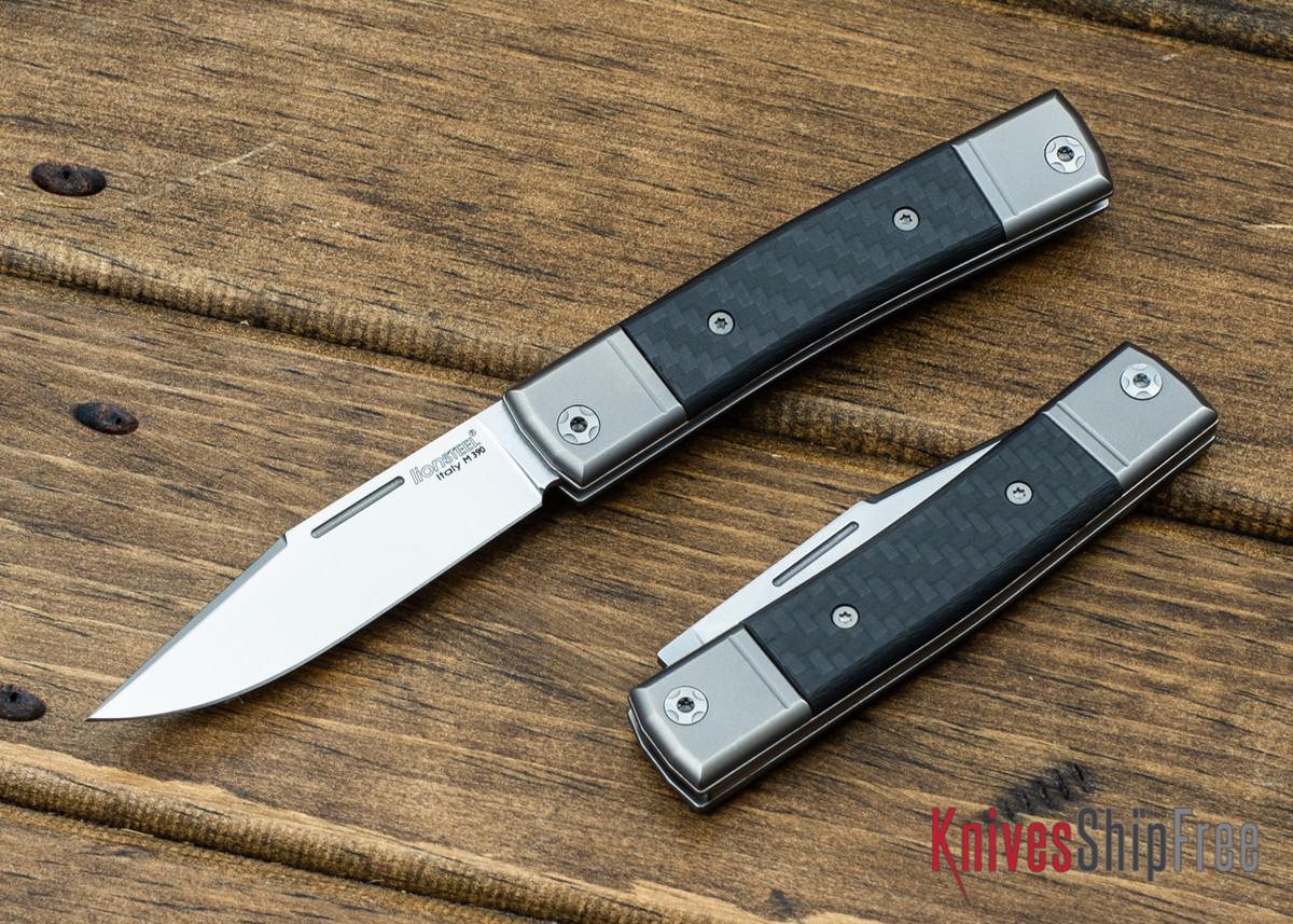 LionSteel: BestMan Pocket Knife - Bohler M390 - Carbon Fiber primary image