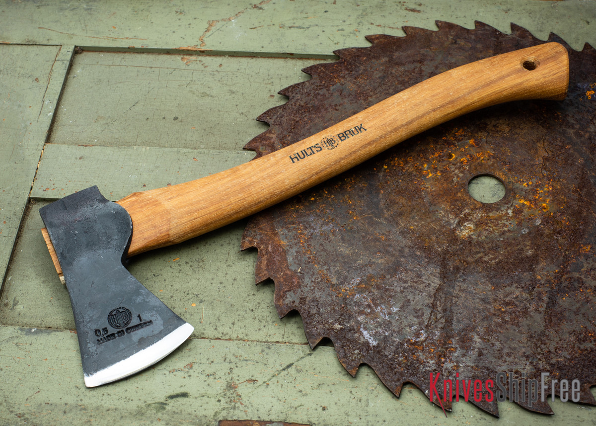 Hults Bruk: Almike Hatchet - Forged Axe Head - Premium Series primary image