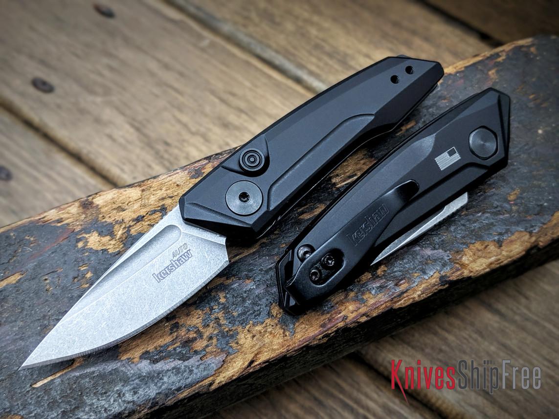 Kershaw Knives: Launch 9 - Black Aluminum - Stonewash - 7250 primary image