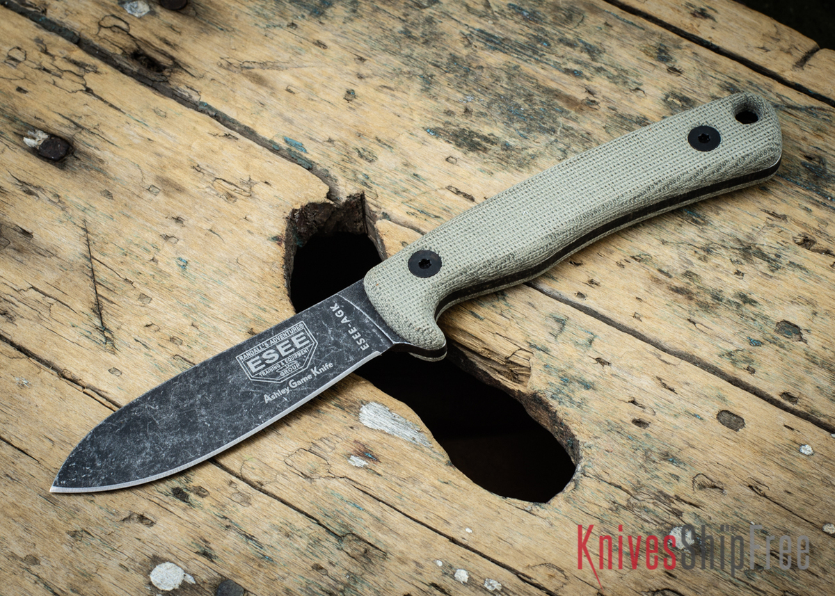 ESEE Knives: AGK Ashley Game Knife primary image