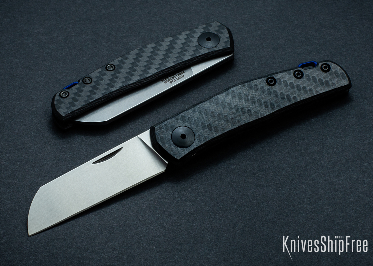 Zero Tolerance: 0230 Anso Slipjoint - Carbon Fiber - CPM-20CV