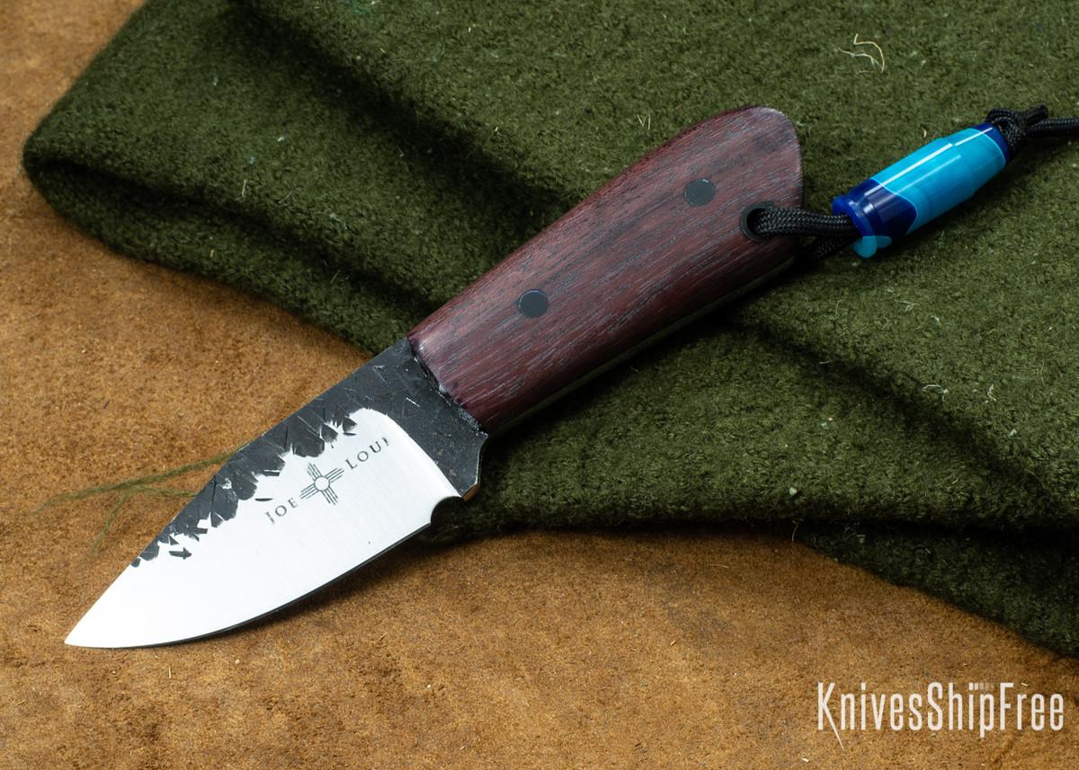 Joe Loui Knives: Chico - Purple Heart Wood - 1084 Steel primary image