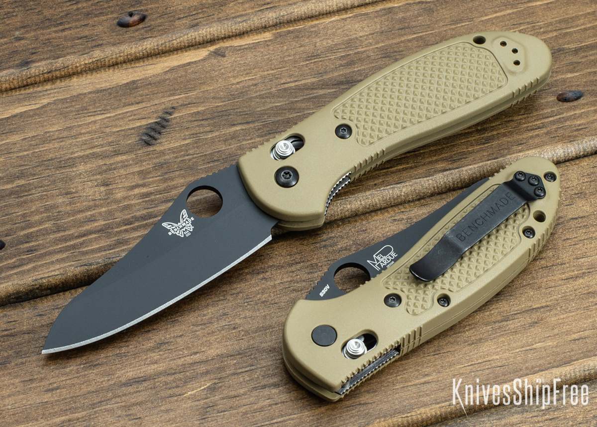 Benchmade Knives: 550BKSN-S30V Griptilian - Black Blade - Sheepsfoot - CPM-S30V - AXIS Lock primary image
