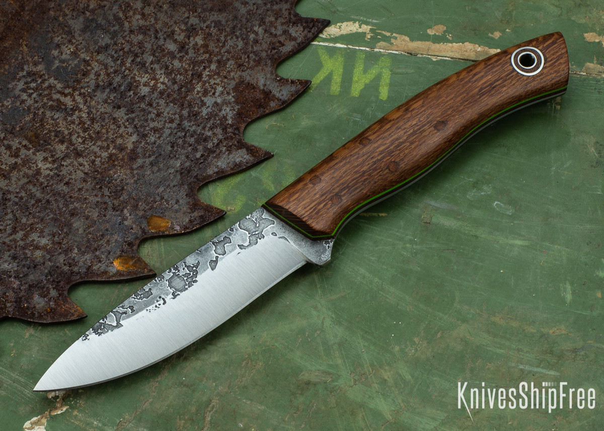 Fiddleback Forge: Ladyfinger - Lacewood - Natural & Green Liners - A2 primary image