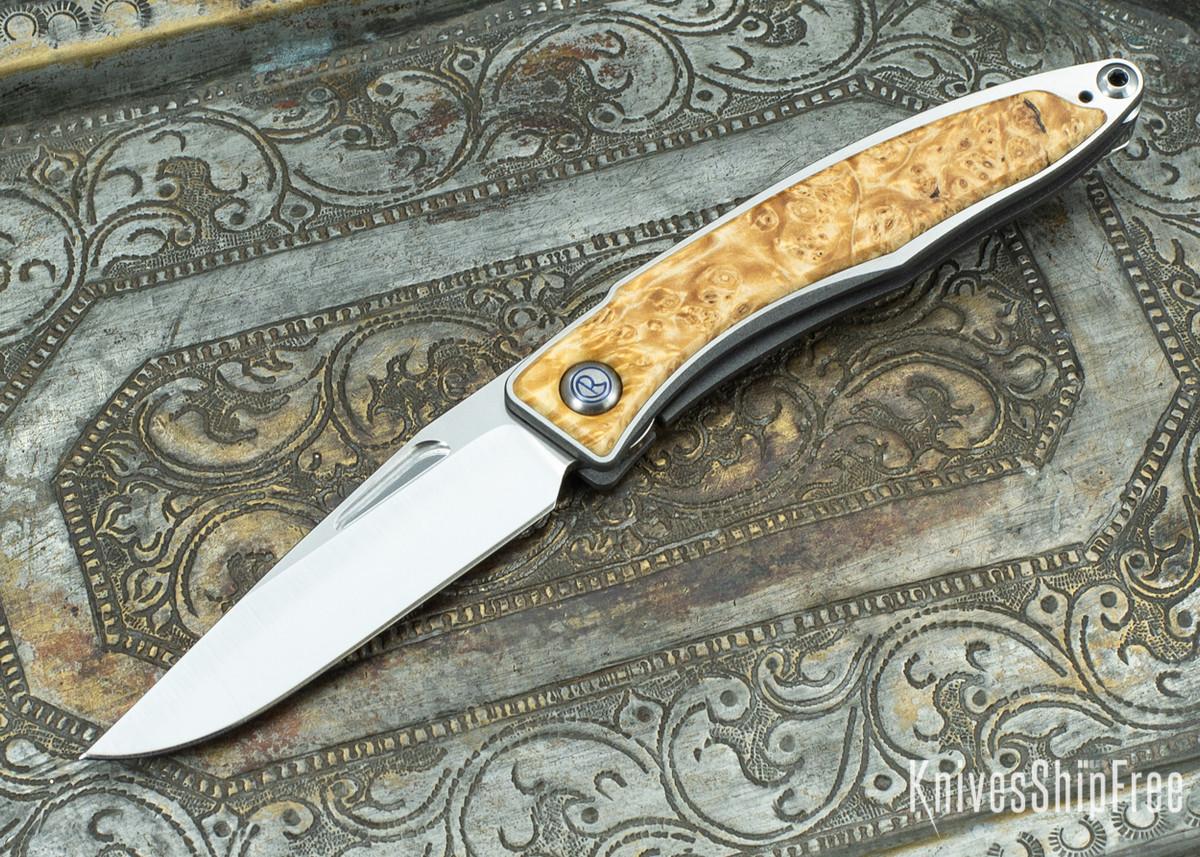 Chris Reeve Knives: Mnandi - Box Elder Burl - 020416 primary image