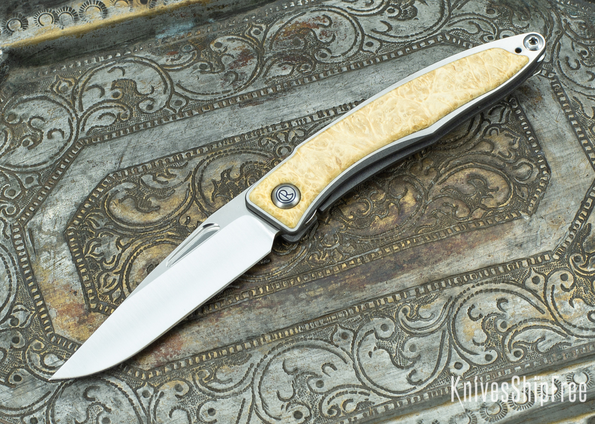 Chris Reeve Knives: Mnandi - Box Elder Burl - 020419 primary image