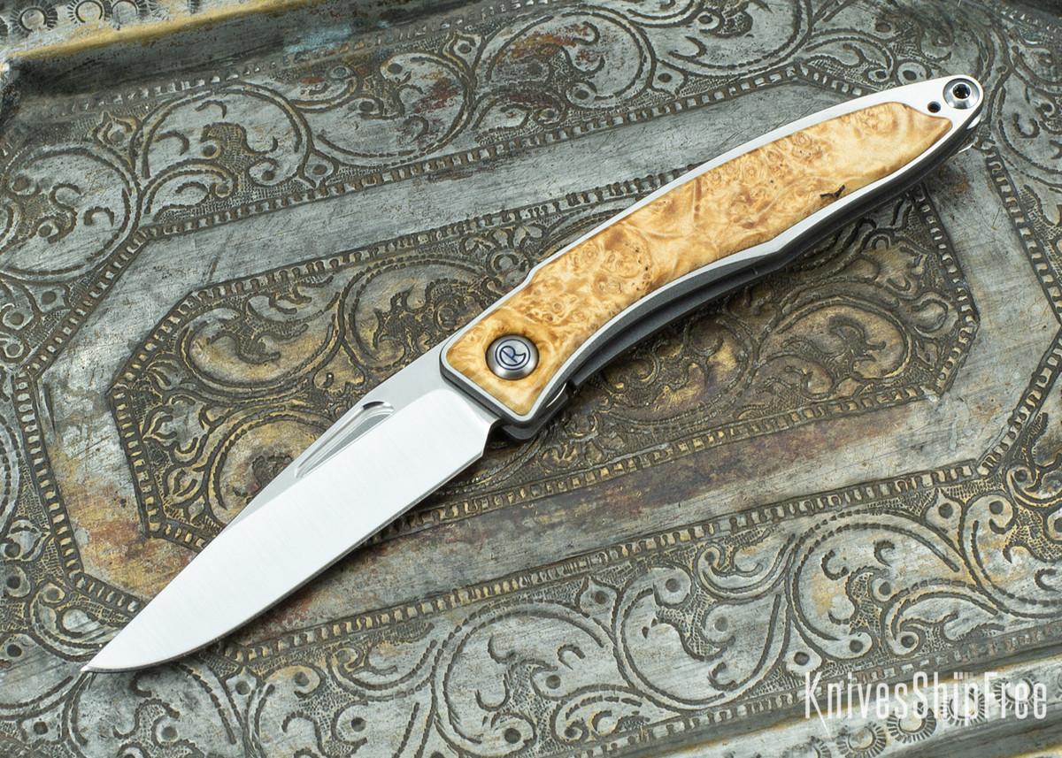 Chris Reeve Knives: Mnandi - Box Elder Burl - 020428 primary image