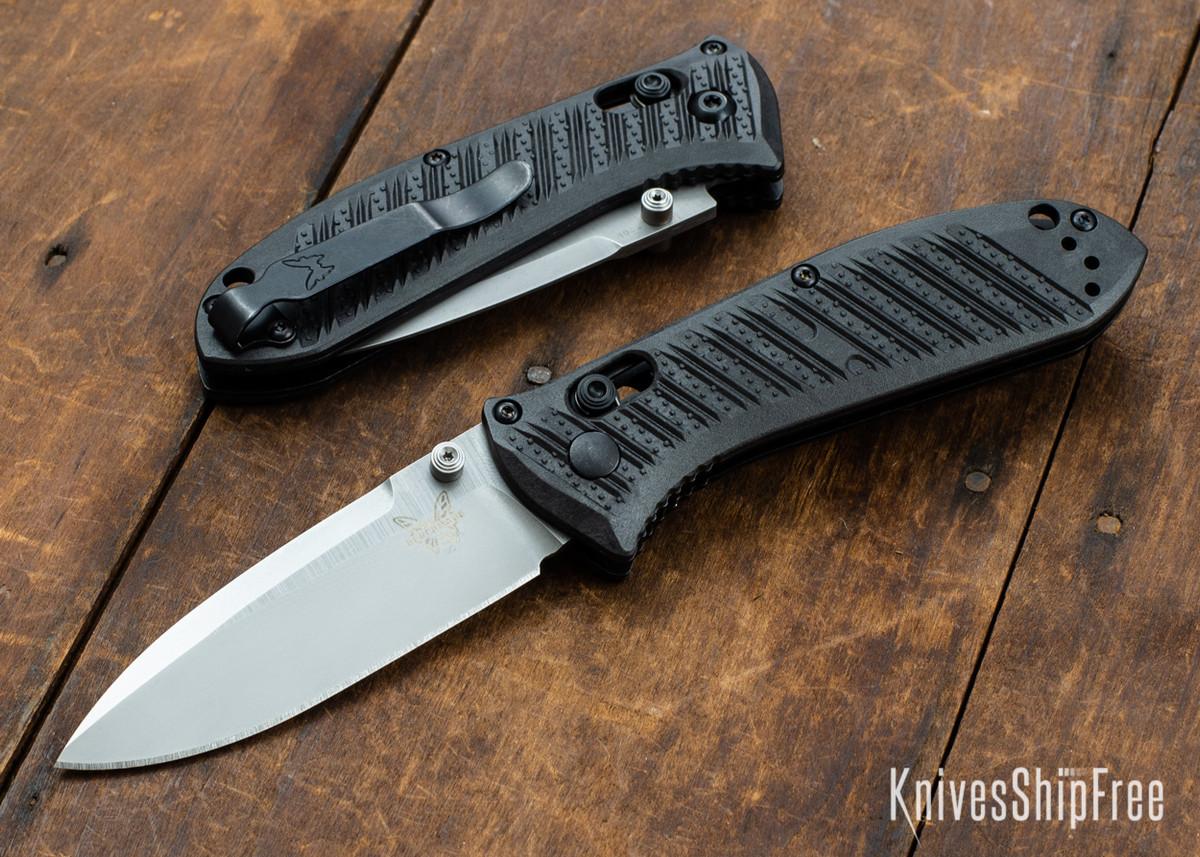 Benchmade Knives: 575-1 Mini Presidio II - Black CF-Elite Scales - AXIS Lock - CPM S30V primary image