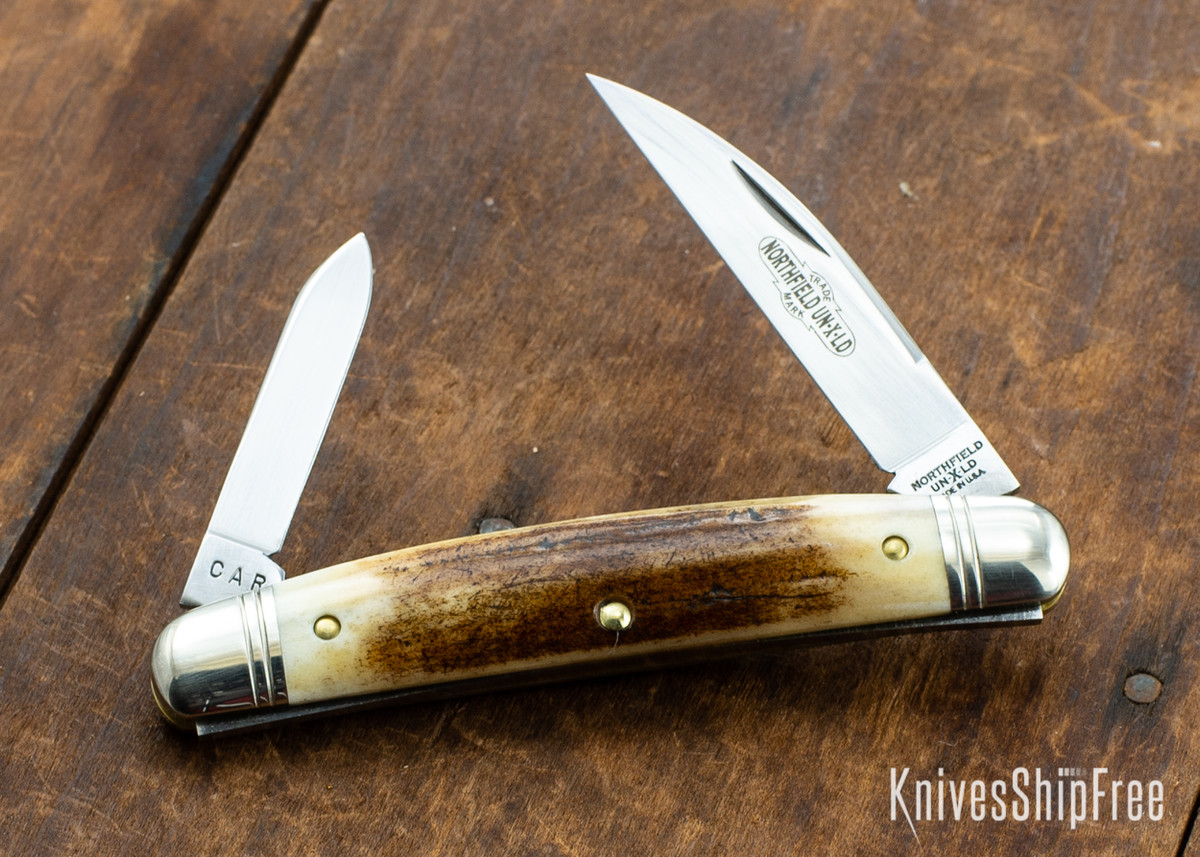 Great Eastern Cutlery: #62 Northfield UN-X-LD - Easy Pocket Congress - Sambar Stag 72 primary image