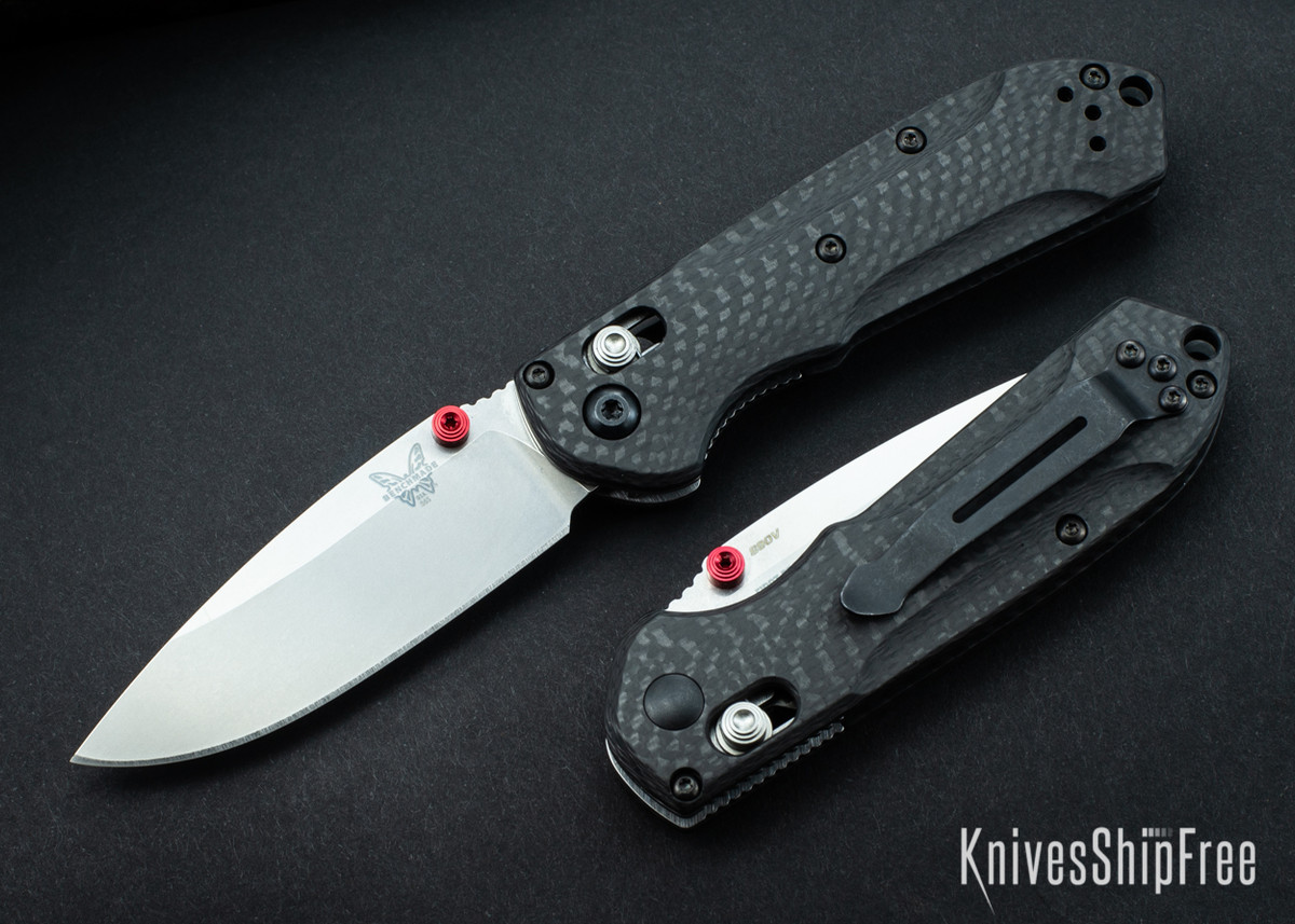 Benchmade Knives: 565-1 Mini Freek - Carbon Fiber - CPM-S90V - AXIS Lock primary image