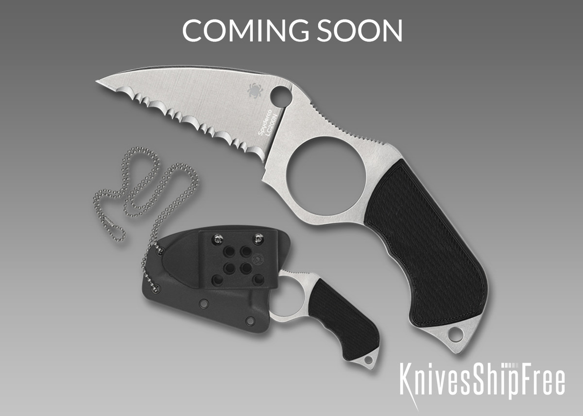 Spyderco: Swick 5 - Serrated - LC200N - FB14S5 primary image