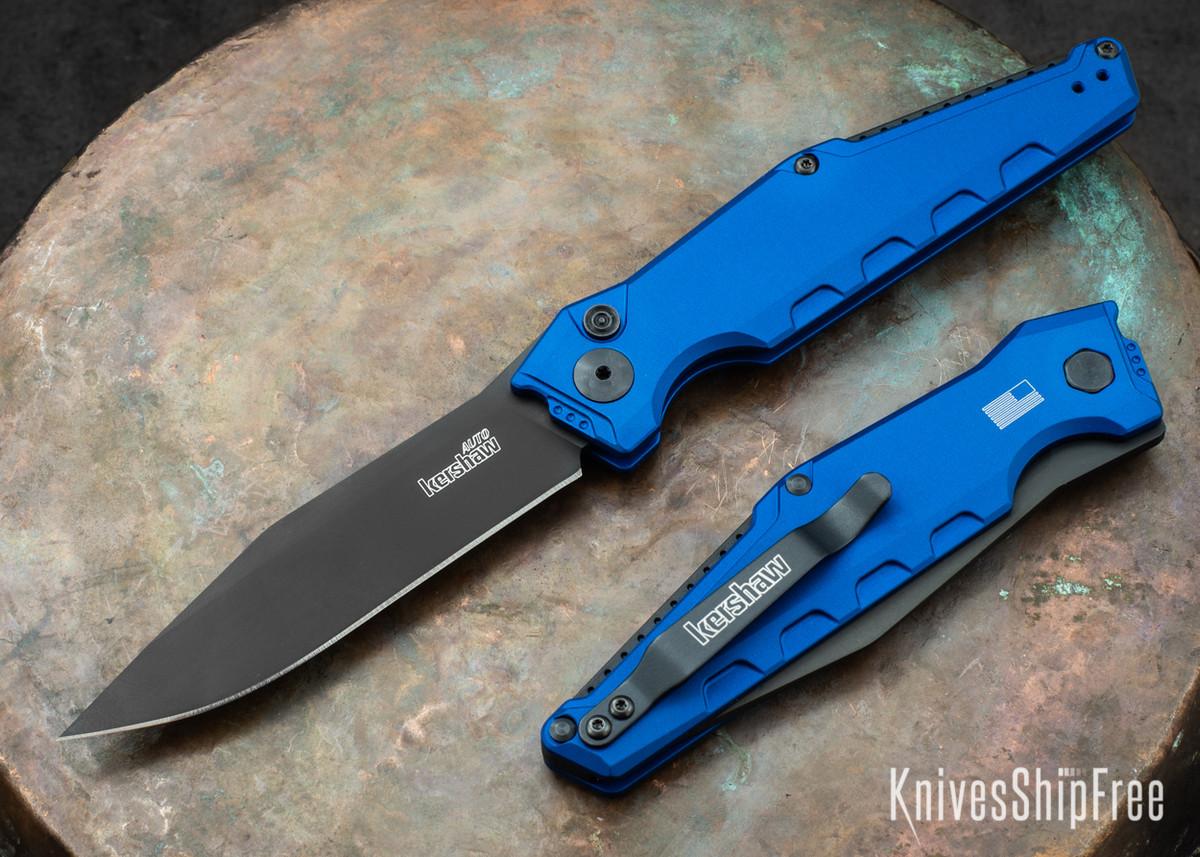 Kershaw Knives: Launch 7 - Blue Aluminum - Black DLC - 7900BLUBLK primary image