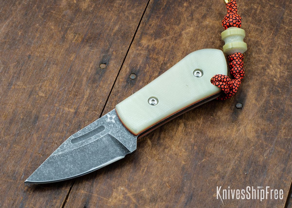 Joe Loui Knives: Chico #036 - Jade G-10 - Orange Liners primary image