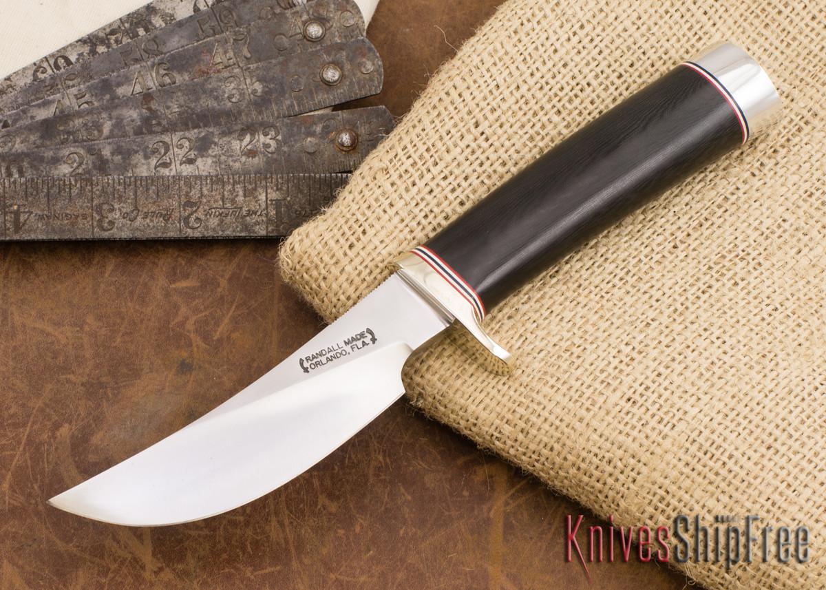 Randall Made Knives: Model 20-4.5 Yukon Skinner - Black Micarta - 073013 primary image