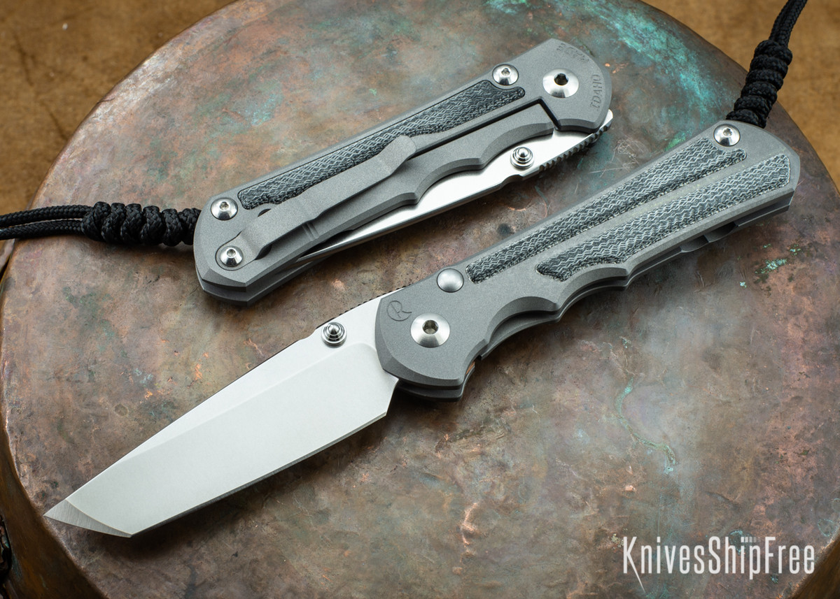Chris Reeve Knives: Large Inkosi - Black Canvas Micarta Inlay - Tanto Grind primary image