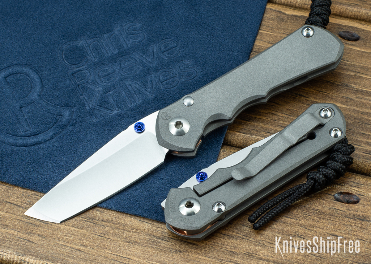 Chris Reeve Knives: Small Inkosi - Tanto primary image