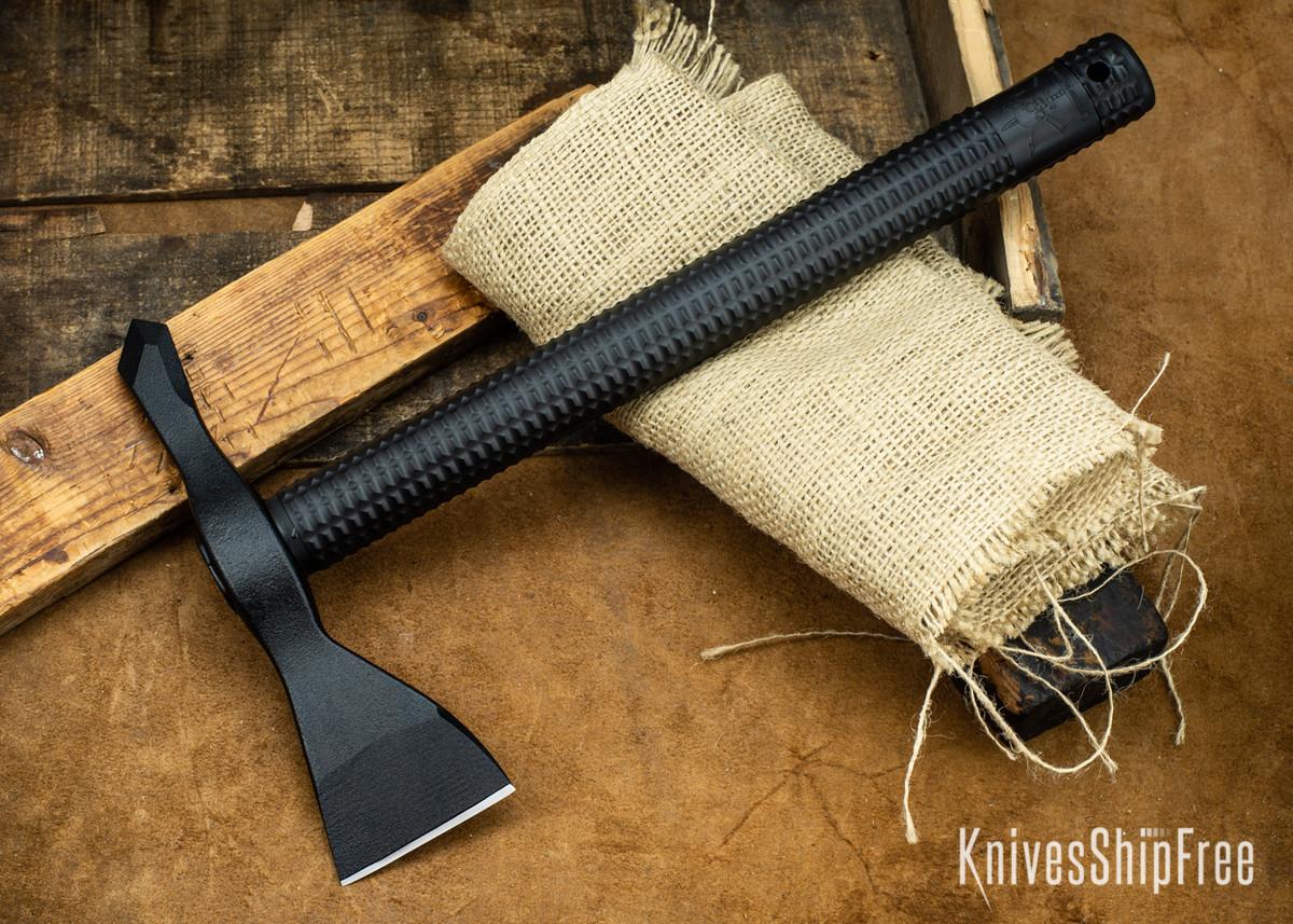 American Tomahawk: Model 1 - Black Supertough Nylon Handle - Drop-Forged 1060 Steel - Black Powdercoat primary image