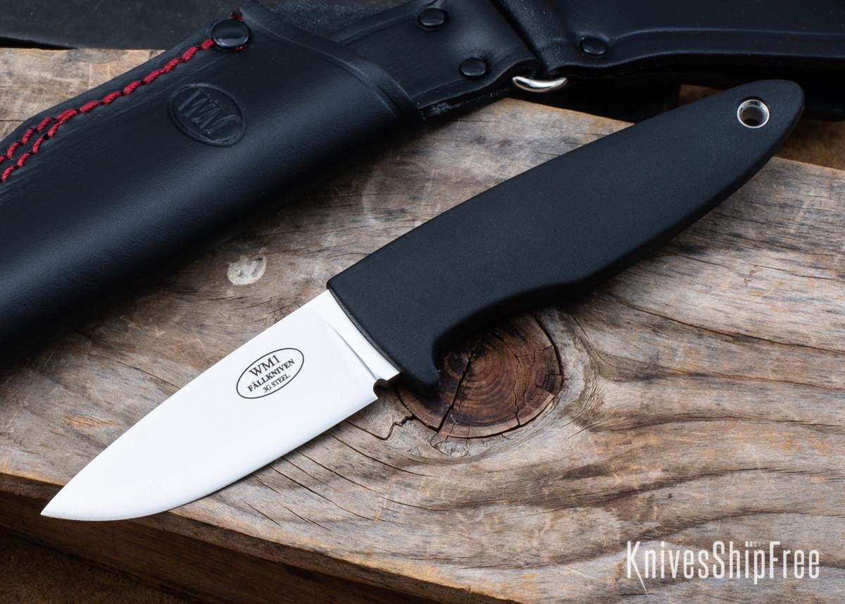 Fallkniven: WM1 Sporting Knife - 3G Steel - Leather Sheath - WM1L3G primary image