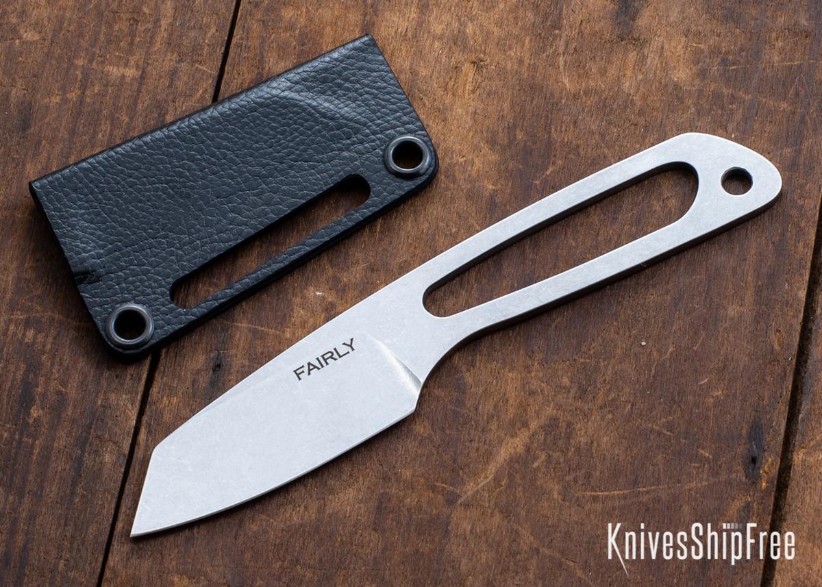 Fairly Knives: Backpacker - Nitro-V - Stonewashed Finish - Holstex Sheath primary image