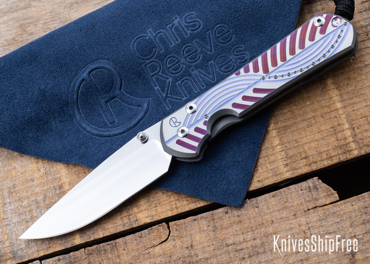 Chris Reeve Knives: Small Sebenza 31 - Unique Graphic - CR02CG006 primary image