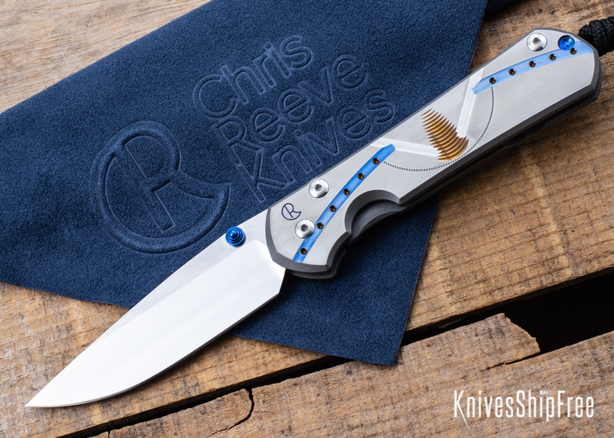 Chris Reeve Knives: Large Sebenza 31 - Unique Graphic - CR02CG009 primary image