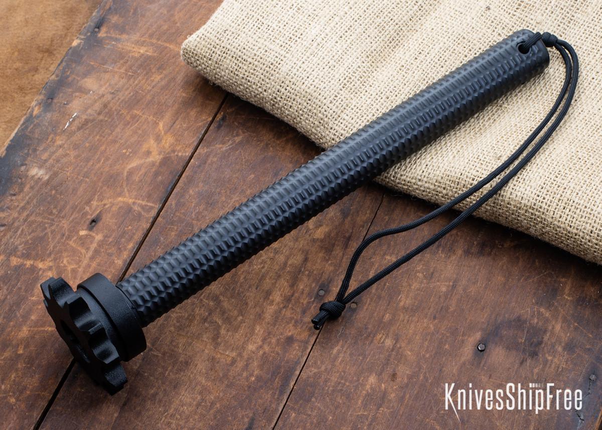 American Tomahawk: Trench - Carbon Steel - Black Powdercoat - Black Supertough Nylon Handle primary image