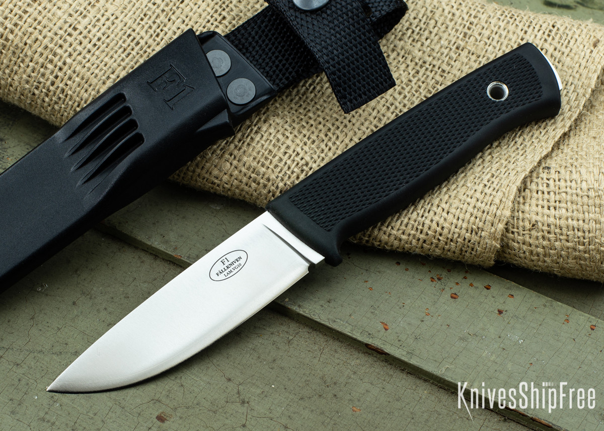 Fallkniven: F1 Swedish Military Survival Knife - VG-10 - Zytel Sheath primary image