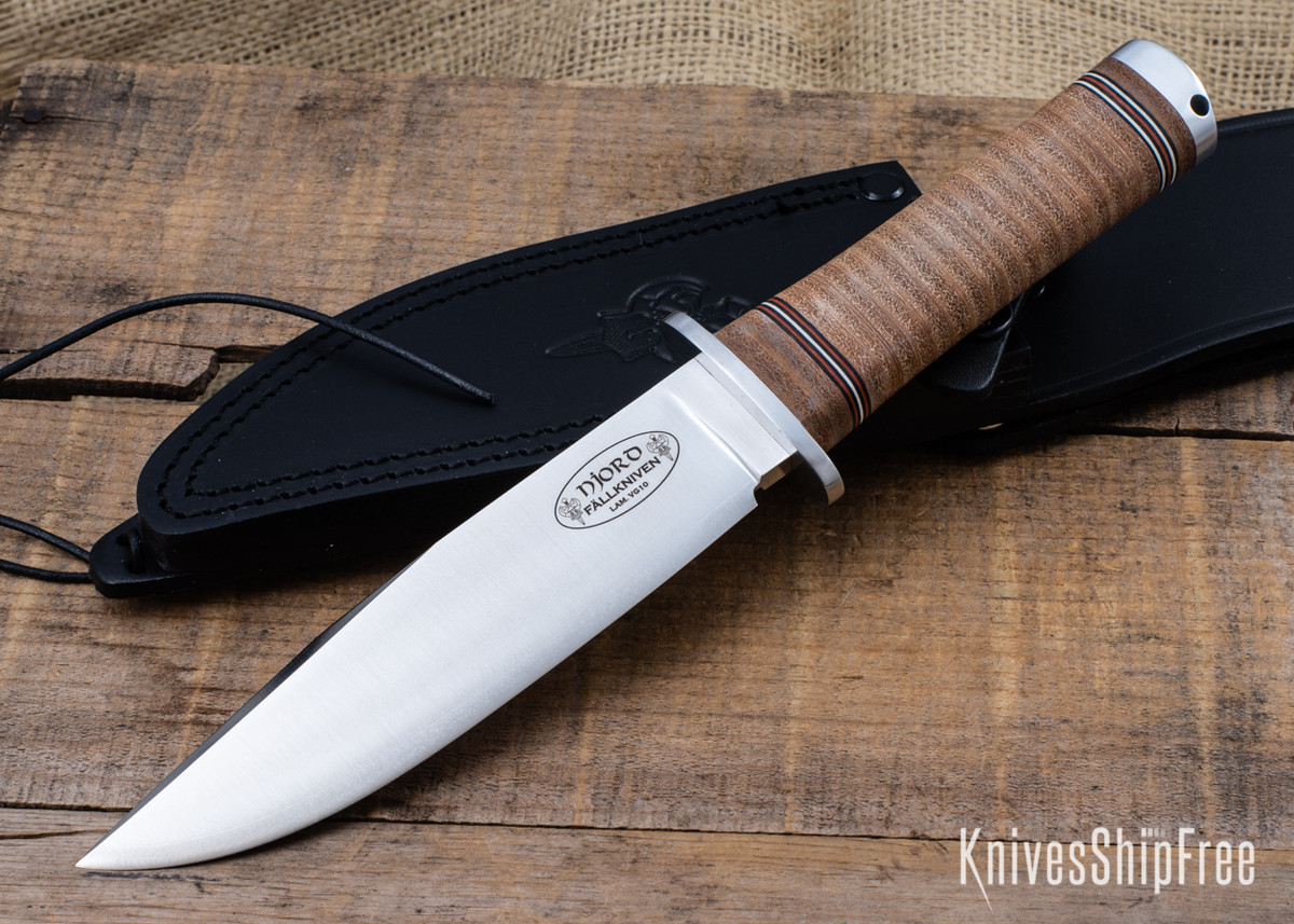 Fallkniven: NL3 Njord - Northern Light Series - Stacked Leather primary image