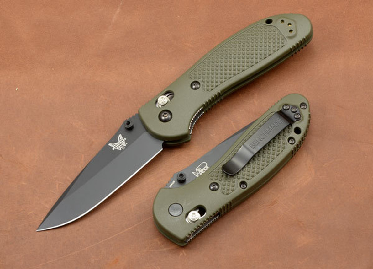 Benchmade Knives: 551BKOD Griptilian - Modified Drop Point - Olive Drab primary image