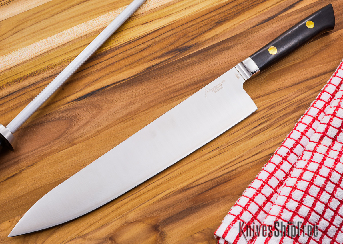 Northwoods Knives: Blackwood XHP - 270mm (10.6 in) Gyuto w/Bolster primary image