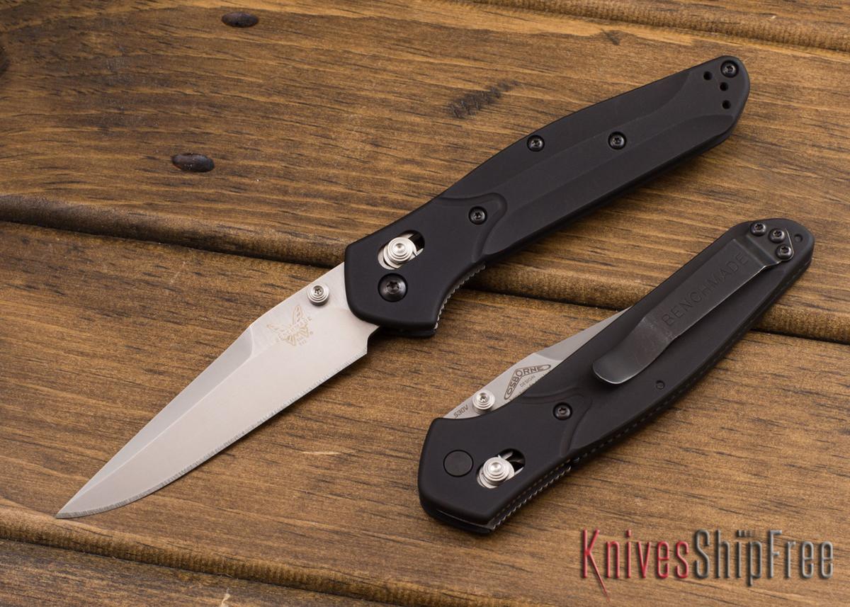 Benchmade Knives: 943 Osborne - Black Aluminum