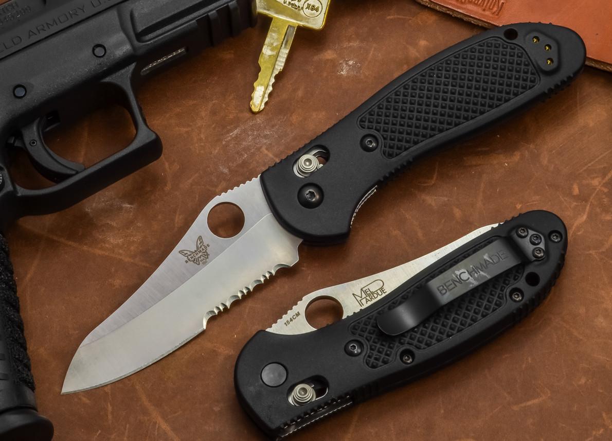 Benchmade Knives: 550SHG Griptilian - Serrated Sheepsfoot Blade primary image