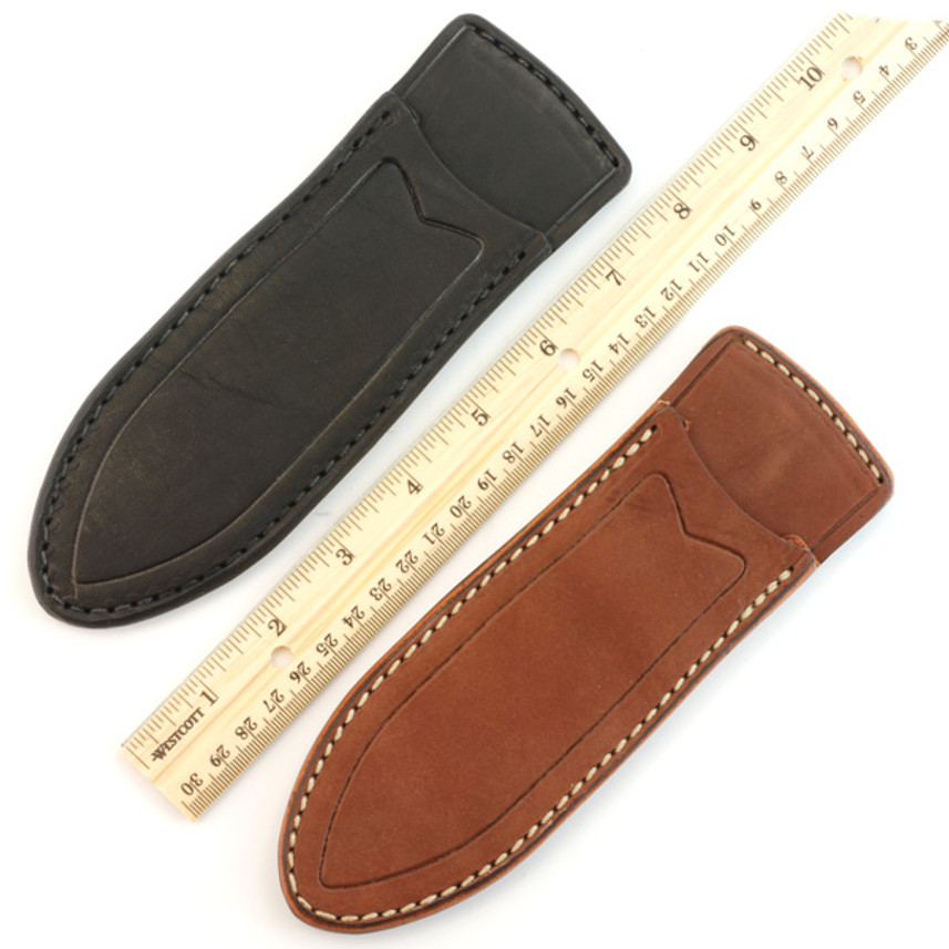 KSF Leather: Modern Classic Sheath - Small - Brown primary image