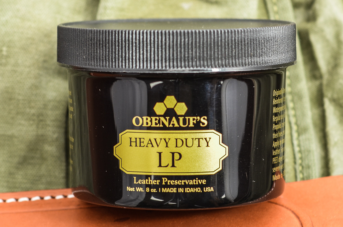 Leather Care: Obenauf's Heavy Duty Leather Preservative (LP)-8 oz primary image