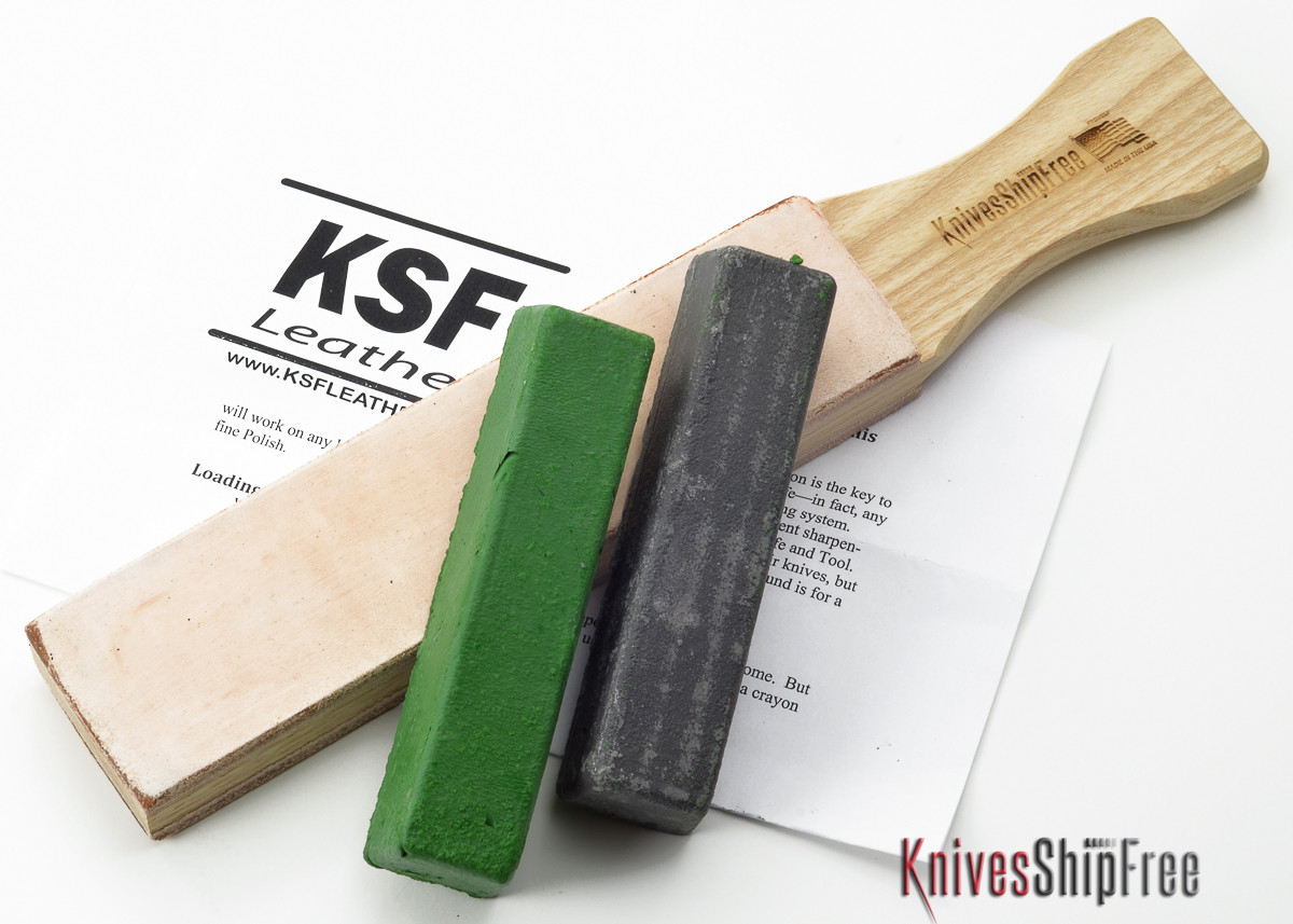 *Bark River Sharpening Kit - KSF Double Sided Hone w/ Compound primary image