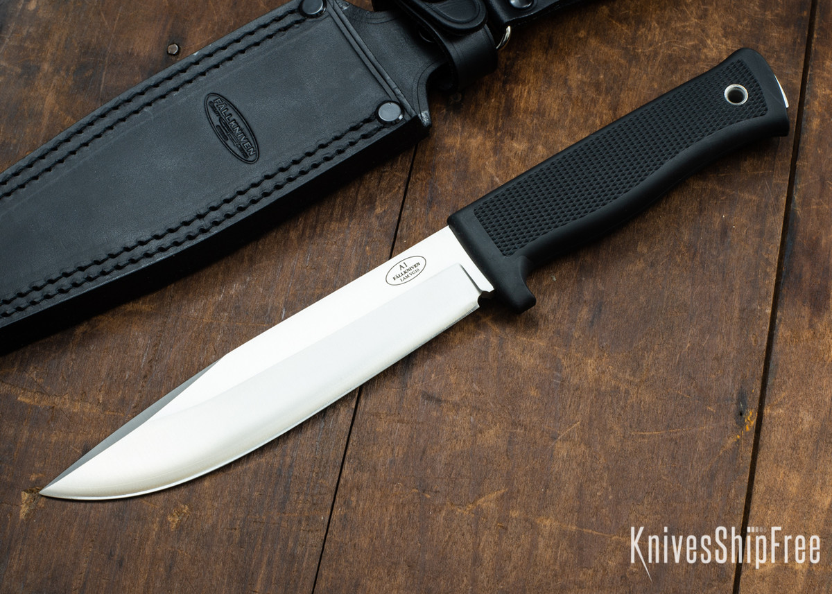 Fallkniven: A1 L - Army Survival Knife - VG-10 - Satin Blade - Leather Dangler Sheath primary image