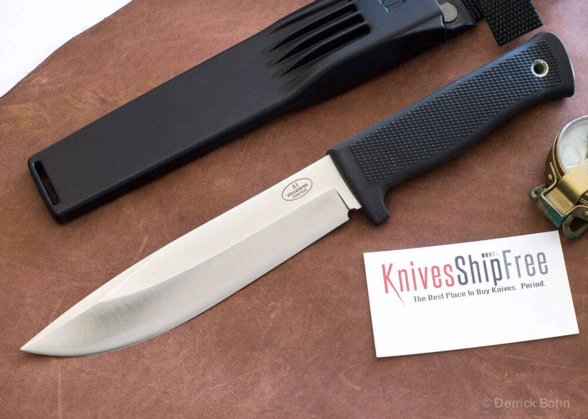Fallkniven: A1 Z - Army Survival Knife - VG-10 - Satin Blade - Zytel Sheath primary image