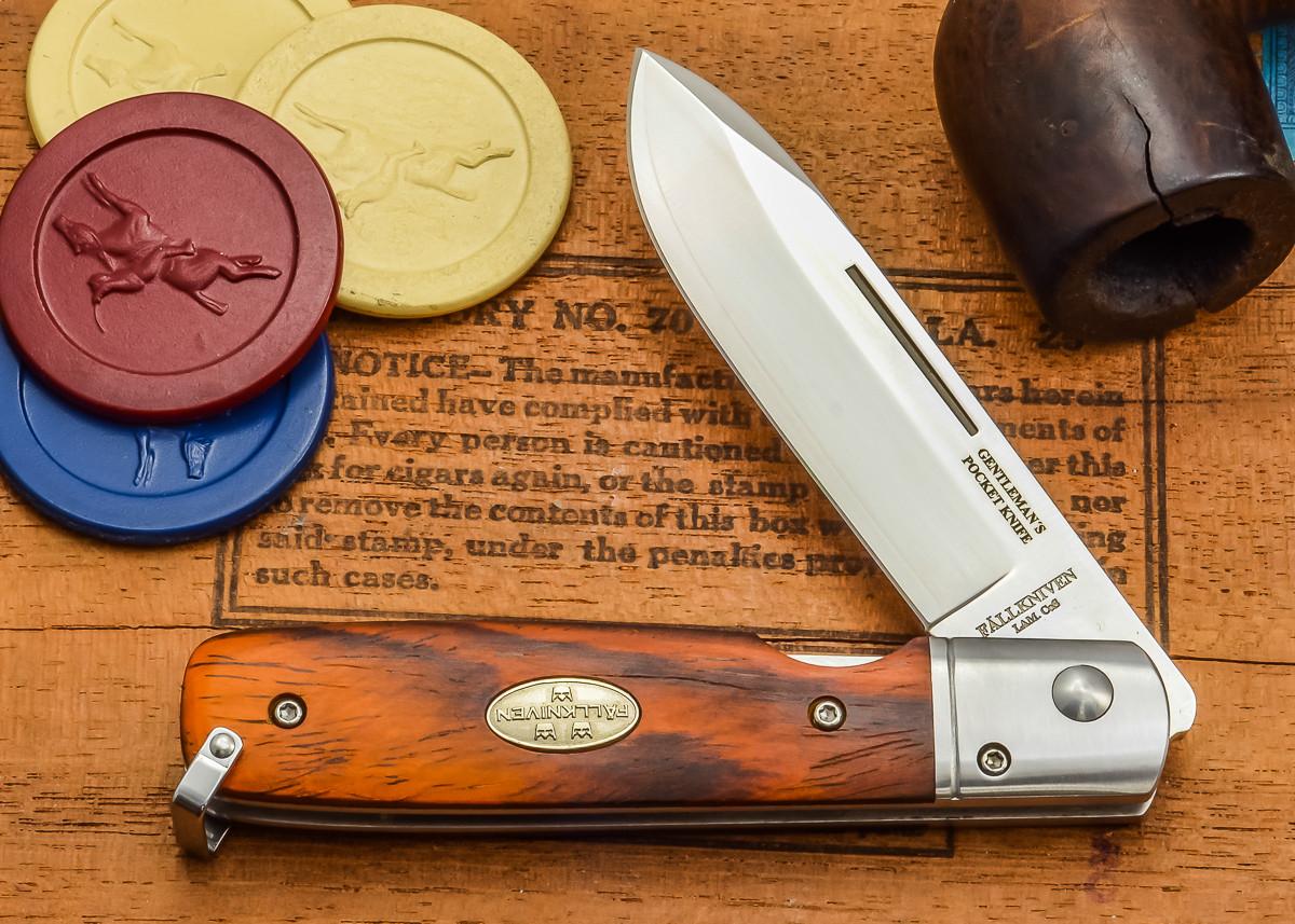 Fallkniven: GP - Gentleman's Pocket Folder - Cocobolo - Laminated CoS Steel primary image