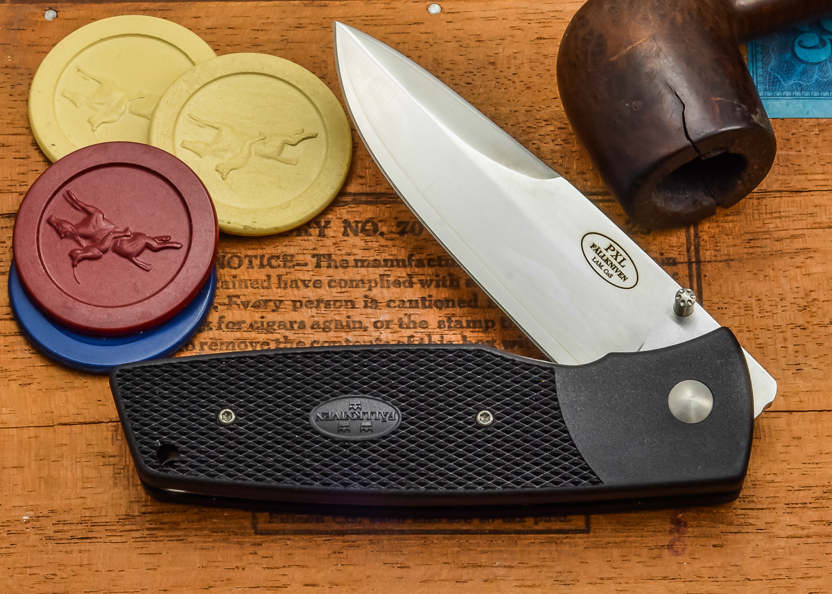 Fallkniven: PXLwh - Workhorse - Grilon - Laminated CoS Steel primary image