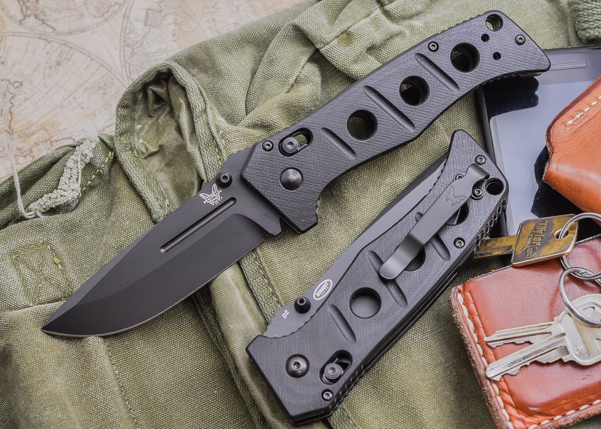 Benchmade Knives: 275BK Adamas - Black Blade primary image