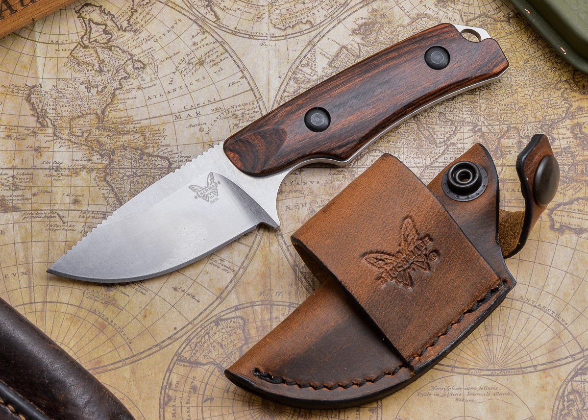 Benchmade Knives: 15016-2 HUNT - Hidden Canyon Hunter - Stabilized Wood primary image