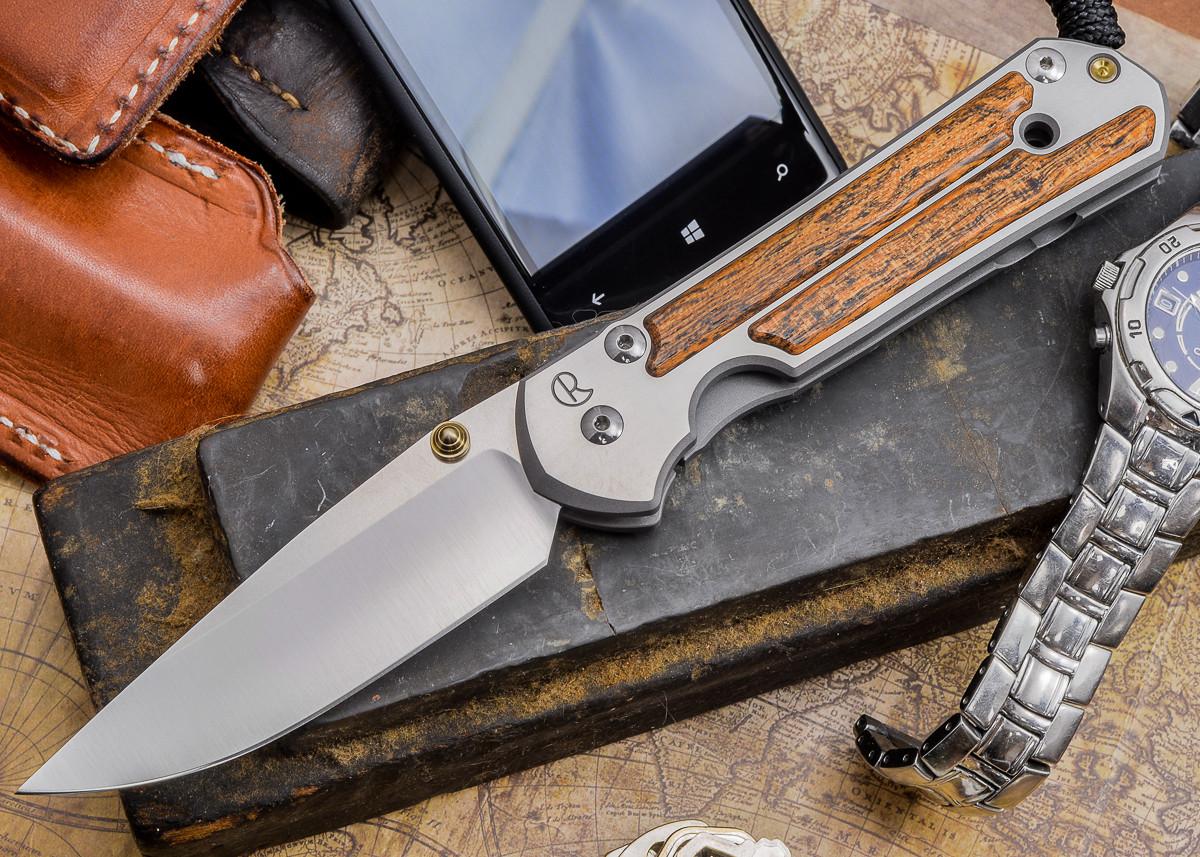 Chris Reeve Knives: Large Sebenza 21 - Bocote Inlay - J primary image