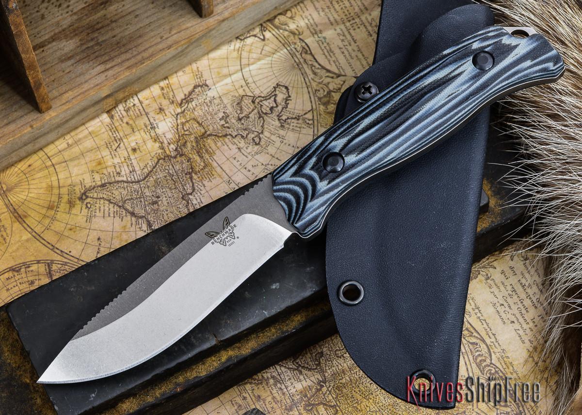 Benchmade Knives: 15001-1 HUNT - Saddle Mountain Skinner - G-10 primary image